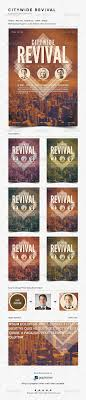 citywide revival flyer poster template by ponda graphicriver citywide revival flyer poster template church flyers