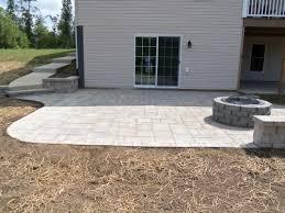 backyard paver patio designs incredible landscape pavers design lowe s do it yourself