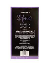 It is a marriage made in heaven between two countries and one gorgeous bean. Trader Joe S New Nespresso Capsules 10 Ristretto 20 Capsules Amazon Com Grocery Gourmet Food