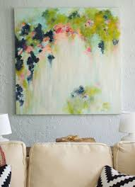 canvas painting ideas and diy abstract art the fox she
