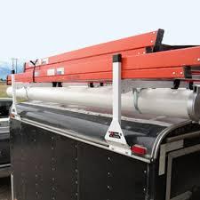 vantech 1 bar steel enclosed trailer or box truck side mount utility ladder rack