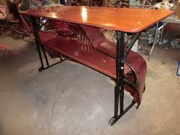 Airplane Wing Coffee Table 1950 International Harvester Truck Turned Into Fire Truck Bar