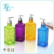 Decorative Plastic Shampoo Bottles