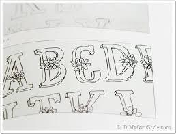 Flower Hand drawn lettering thumb