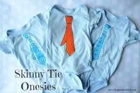 skinny tie onesies from it happens in a blin
