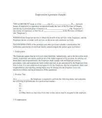 Temporary Employment Contract Template Contract Agreement Letter Fresh Job Template Great