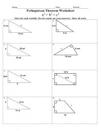 Pythagoras Theorem Chart 7 Pythagorean Theorem In Science Worksheet Science