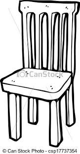 chair clipart black and white. pin furniture clipart cartoon drawn #5 chair black and white