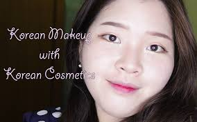 korean makeup with korean cosmetics i indonesia