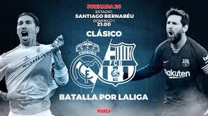 real madrid barcelona horario c