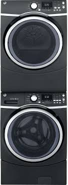black washer and dryer. Black Stackable Washer And Dryer The Can Have Stacked On Top Of It