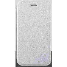 Flip Cover for Philips W3500 - Silver ...