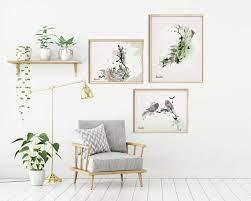 set of 3 wall art scandinavian decor