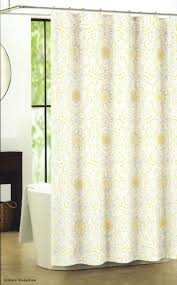 yellow cotton shower curtains curtain