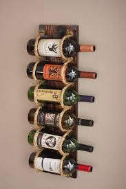 Our rope ladder wine rack. One of our newest creations https://www