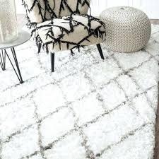 big white fluffy rug extra large target