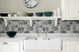 Tiled Kitchen Exclusive Tiled Kitchen Ideas With Grey Mozaic Ceramic Tiled And