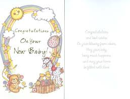 New Baby Congratulations Cards 25 Wonderful New Born Baby Wishes Pictures