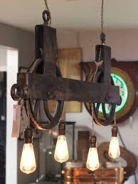 antique industrial lighting fixtures. double pulley light i think have most of the materials to make this rustic lightingindustrial antique industrial lighting fixtures