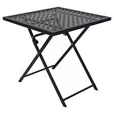 woven metal furniture. woven metal folding patio table threshold furniture h