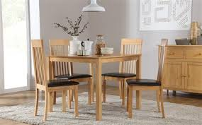 small dining furniture. Milton Square Dining Table - With 4 Oxford Light Chairs Small Furniture A
