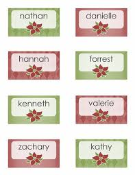 christmas placecard templates 28 images of burgundy holiday place card template stupidgit com
