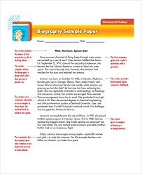 sample biography report templates documents in  8 biography report templates