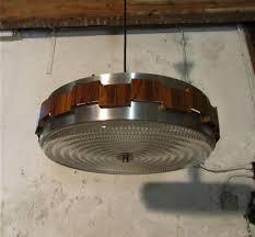 Vintage Metalen Opengewerkte Hanglamp Met Metaal In Chroom En
