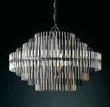 restoration hardware chandelier floor lamp vaille crystal ch