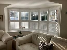 Window For Living Room Bay Window Shutters Fitted In Lymington Shuttersouth