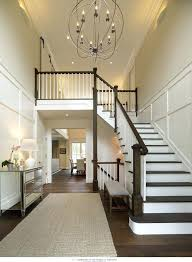 chandelier for foyer ideas and knight architects don photographers entryway story small foyer chandelier ideas 332