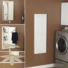 Recessed Ironing Board Hideaway Storage Cabinet Fold Away Unit Built In  Cupboard