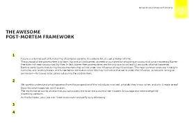 Project Management Post Mortem Template Post Implementation Review Template Project Management