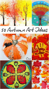 Open-Ended Autumn Art Activities for Kids