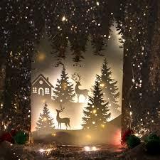 Paper Christmas Tree Lights