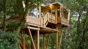 Modern Tree Houses 210 Sq Ft Modern Treehouse Tiny Home Youtube