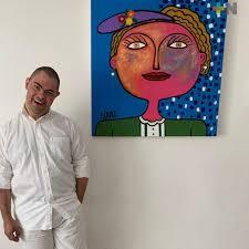 El artista plástico Alan Téllez mantiene activos sus proyectos | MÁSNOTICIAS