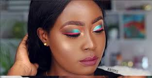 makeup tutorial learn how to do a cut crease this colourful look beaute