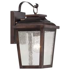 Home Decorators Collection Wesleigh Light Bronze Outdoor Wall - Wall mounted exterior lights