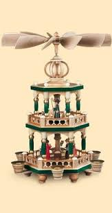 German christmas pyramid Nativity scene, height 40 cm / 16 inch ...