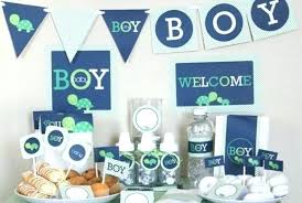 Welcome Home Baby Boy Banner Welcome Home Baby Decorations Homemade Shower Ideas