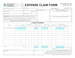 Expense Claim Template Whats Employee Expenses Claim Form Template