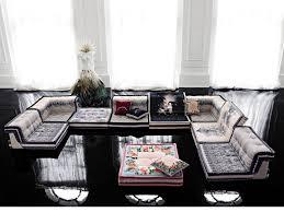 Plain Roche Bobois Floor Cushion Seating Fabric Sofa Mah Jong Missoni Home By In Creativity Ideas