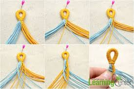 Braided Bracelet Patterns Cool Pictured Demonstration On Braiding A Twocolor Fishtail Friendship