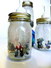 Cool soap dispenser Mason Jar Snow Globe Soap Dispensers Ideastand 10 Cool Mason Jar Soap Dispenser Craft Tutorials 2017