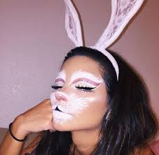 white rabbit makeup