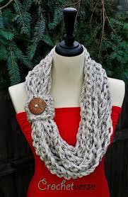 Crochet Infinity Scarf Pattern Simple Decorating Design