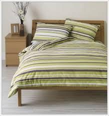 green stripe duvet cover