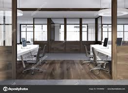 open office doors.  Open White Open Space Office Dark Wooden Doors U2014 Stock Photo In Open Office Doors
