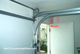 garage track elegant how to install low headroom garage door track opener overhead clearance